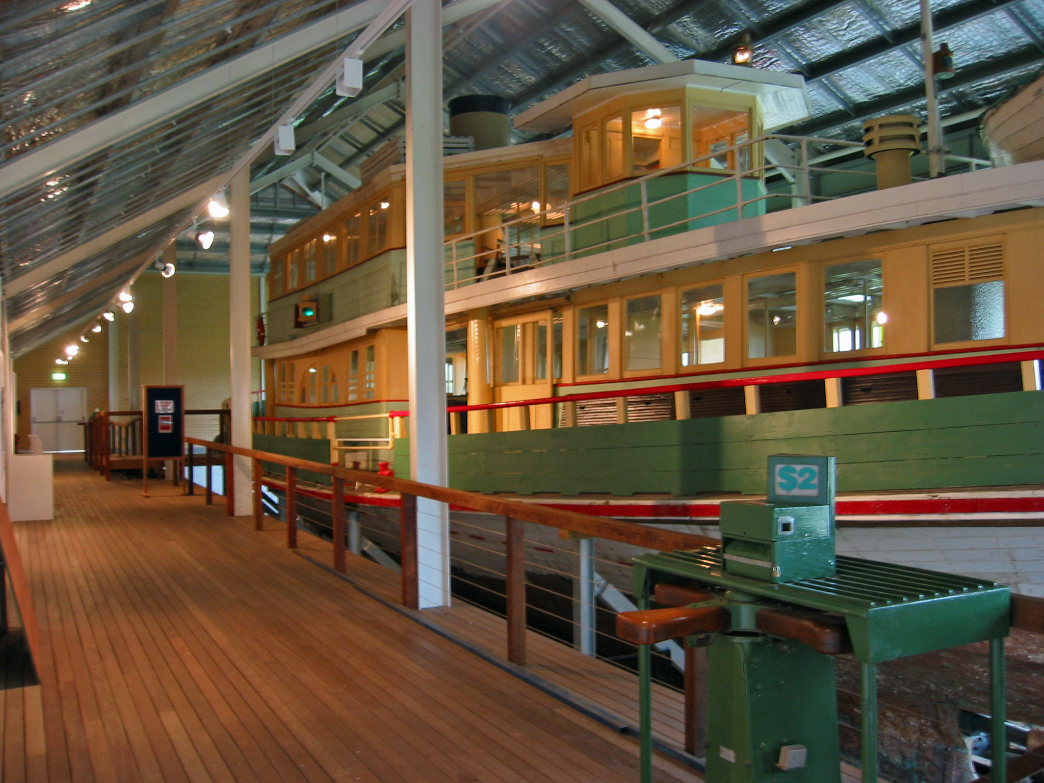 Lady Denman Ferry at the Jervis Bay Maritime Museum. 56a4ef9f2fd