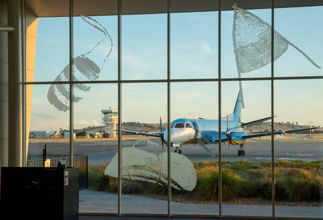Airport Art Welcomes You In Wagga Wagga Mgnsw