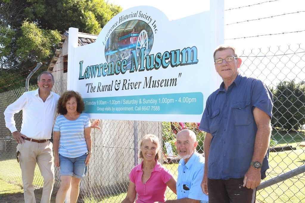 Lawrence Museum entrance sign