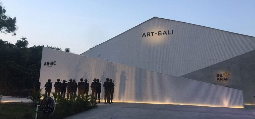 Art Pande Ketut Taman, Until The End, 2018. Installation view, Art Bali 2018. Photo from side trip by Iain Dawson, Director Bega Regional Art Gallery who undertook a fellowship to Museum Macan, Jakarta Indonesia in 2018