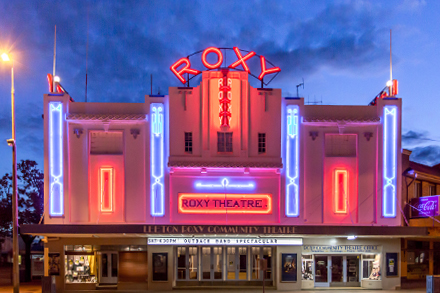 Leeton Roxy Community Theatre, photo courtesy of Leeton Shire Council
