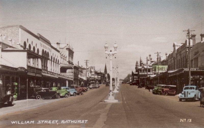William Street, Bathurst, n.d. [RAHS Photograph Collection]