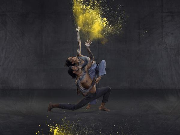 30 years of sixty five thousand, Rika Hamaguchi and Tyrel Dulvarie, Bangarra Dance Theatre. Photo by Daniel Boud