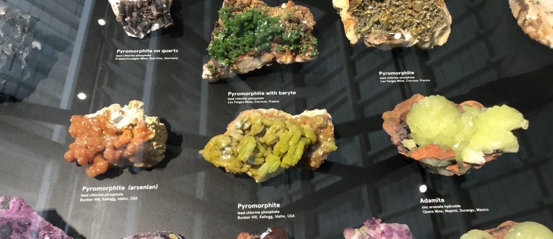 Albert Chapman Mineral Collection