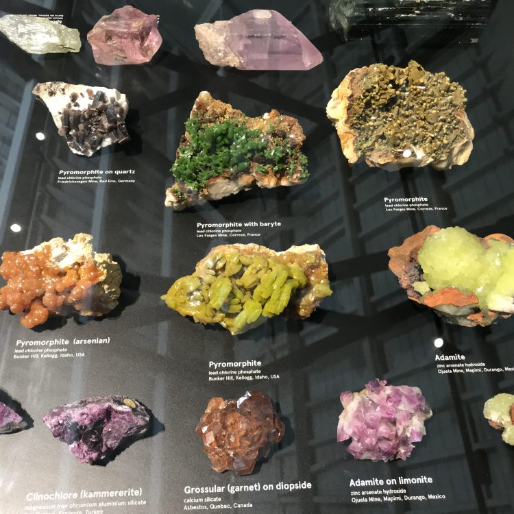 Albert Chapman Mineral Collection