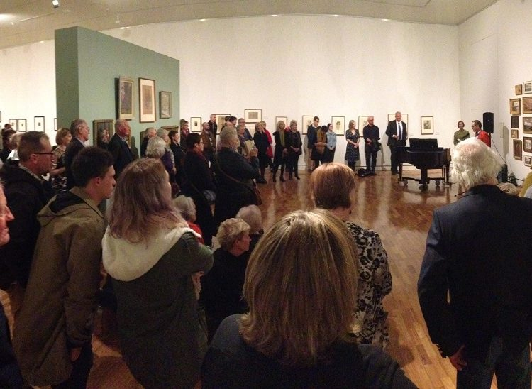 Centenary celebration and opening of the exhibition The View from 1919, Tamworth Regional Gallery.