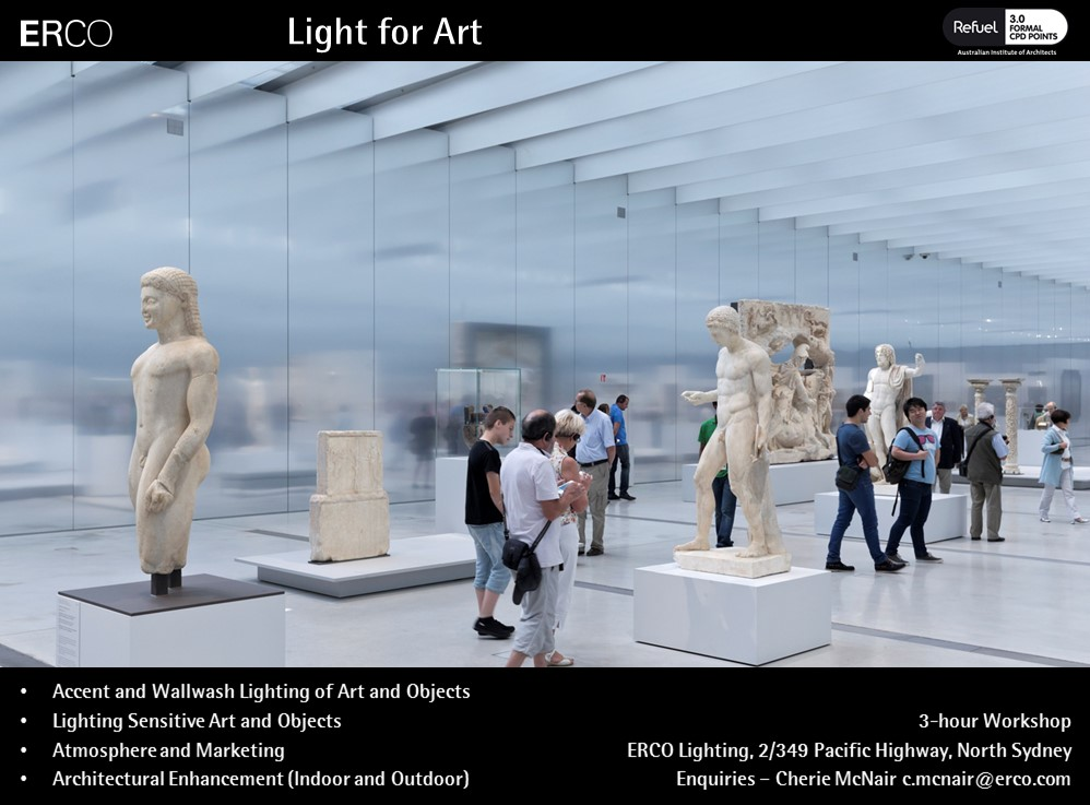 Light for Art with ERCO