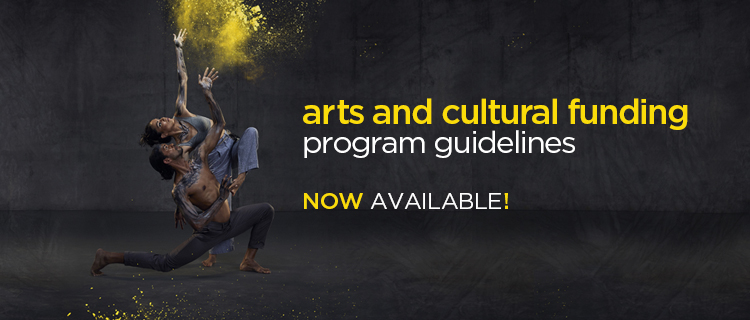 Arts and Cultural Funding Program - guidelines announced