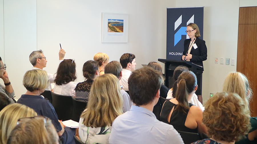 Holding Redlich and Arts Law: Contractor v Employee in the Arts event, 2018. Photo Patrick McCarthy, Arts Law.