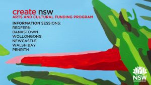 Create NSW Arts and Cultural Funding Program Information Sessions