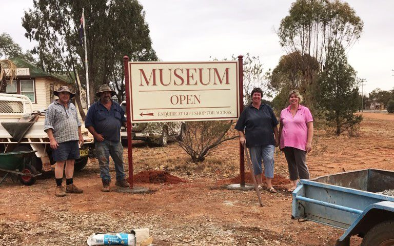 Weethalle Museum, 2018 Small Grant recipient
