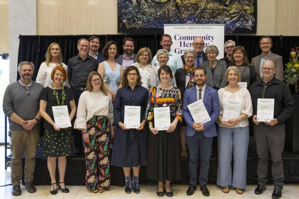 Community Heritage Grants 2019 recipients