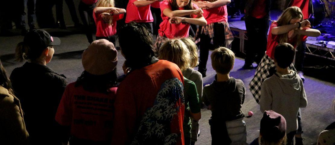 Newcastle Museum - The Shake Up, Relief Concert. Photograph by Eryn Leggatt