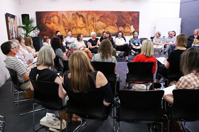 Void Education Symposium discussion