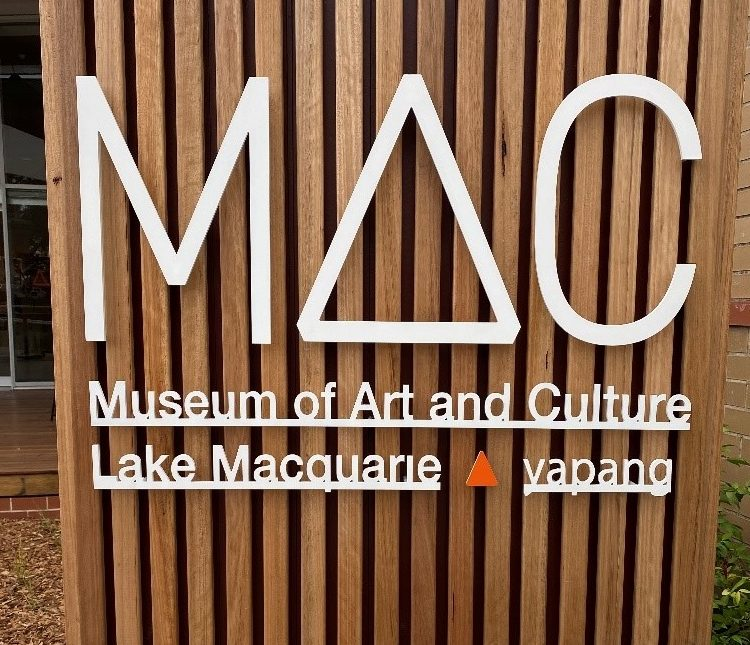 MAC Museum of Art and Culture, Lake Macquarie – yapang