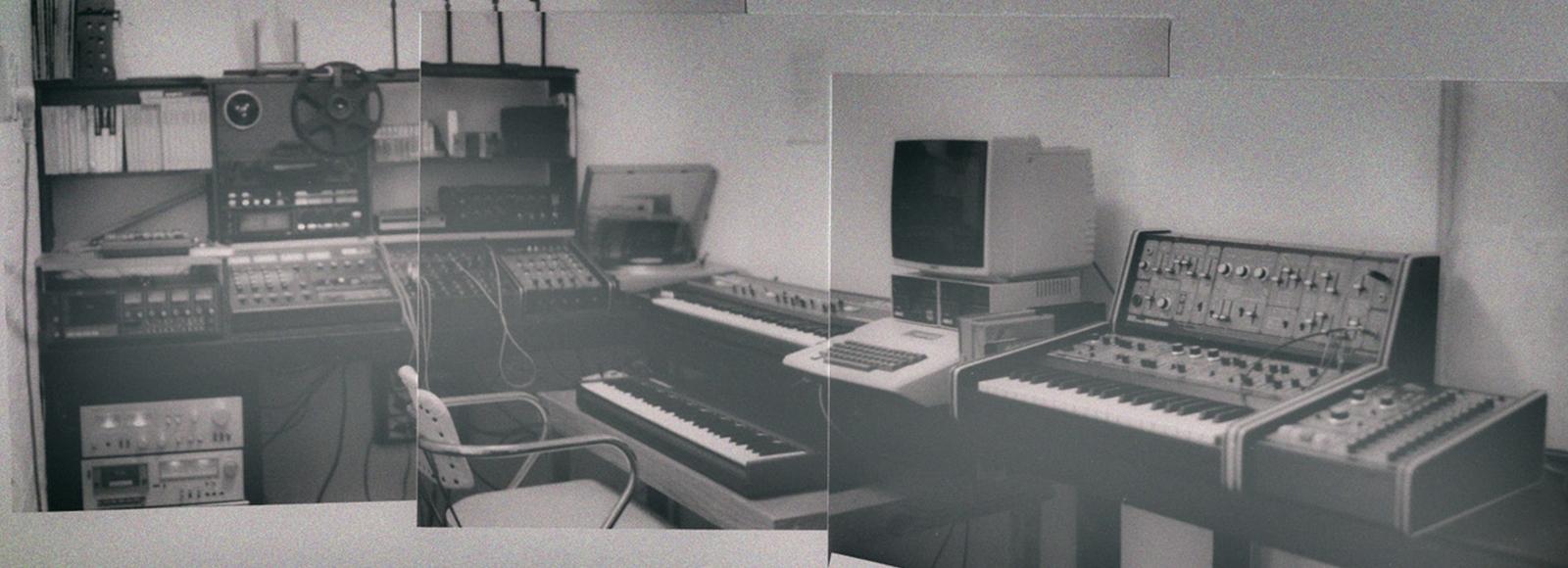 Media-Space sound studio (1983)