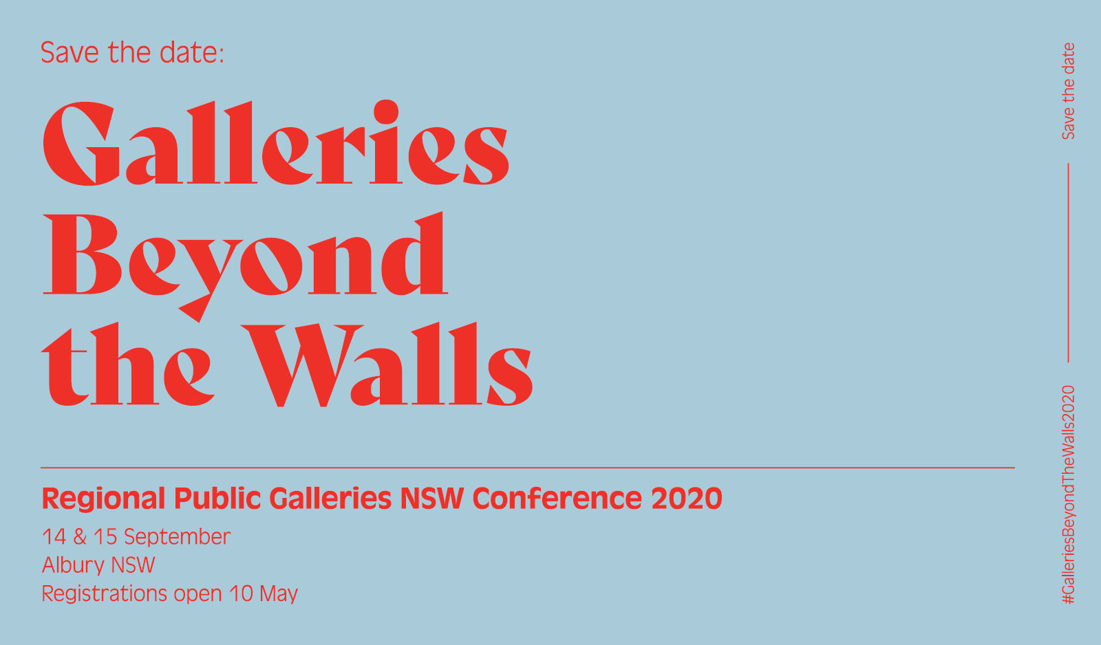 Regional Public Galleries NSW Conference 2020