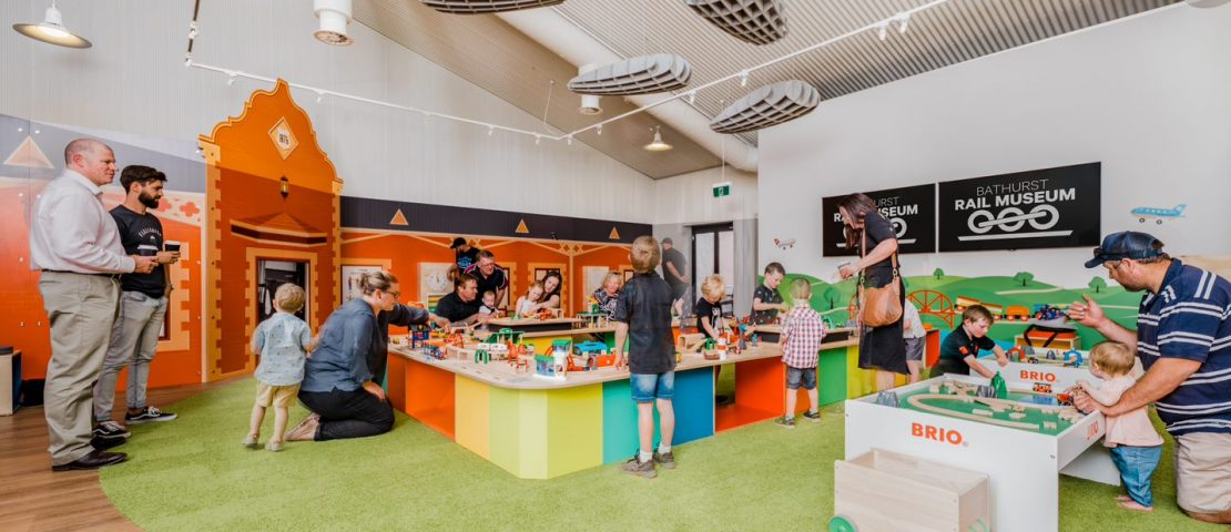 Bathurst Rail Museum - Kids Central, Image courtesy of Bathurst Regional Council