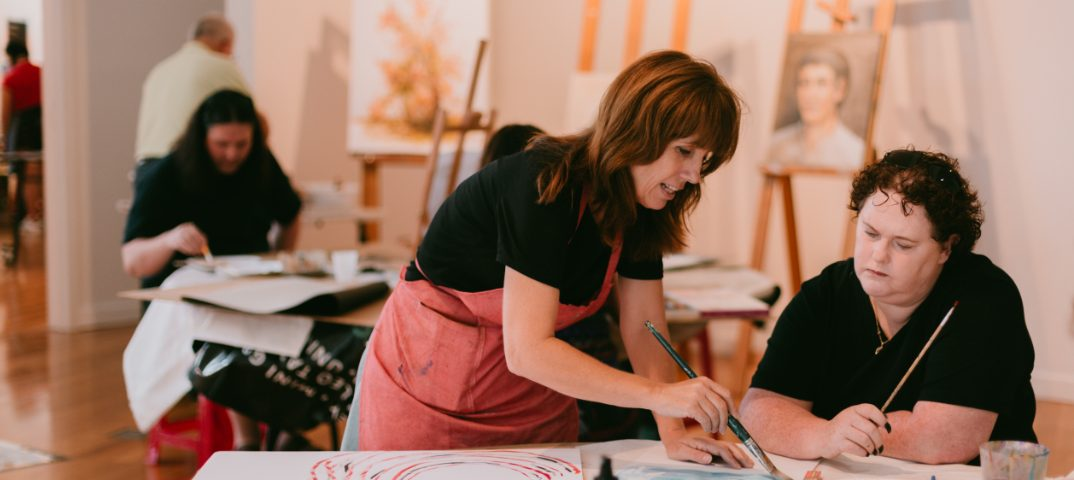Blacktown Arts Open Studio with Patrice Wills. Image: The Western