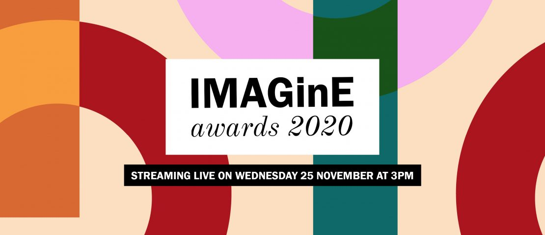 The IMAGinE awards 2020 will be streaming live on Wednesday 25 November at 3pm.
