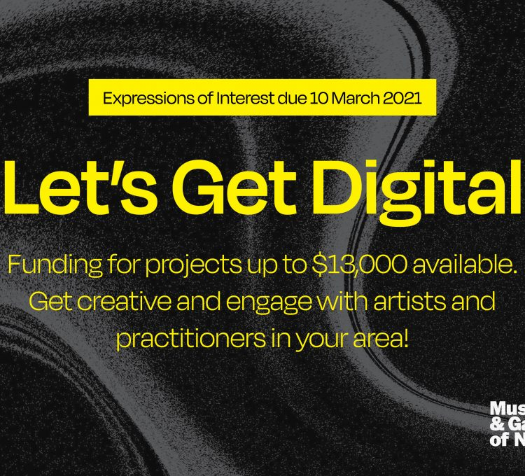 Let's Get Digital Grants - Call for Expressions of Interest
