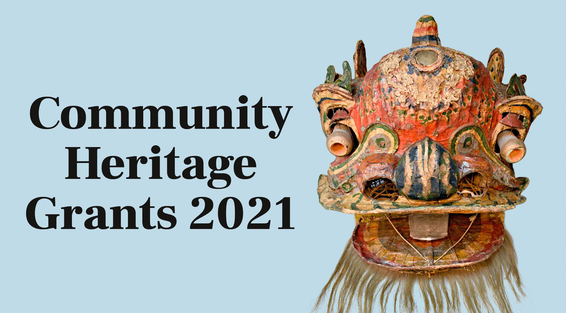 Community Heritage Grants – 2021