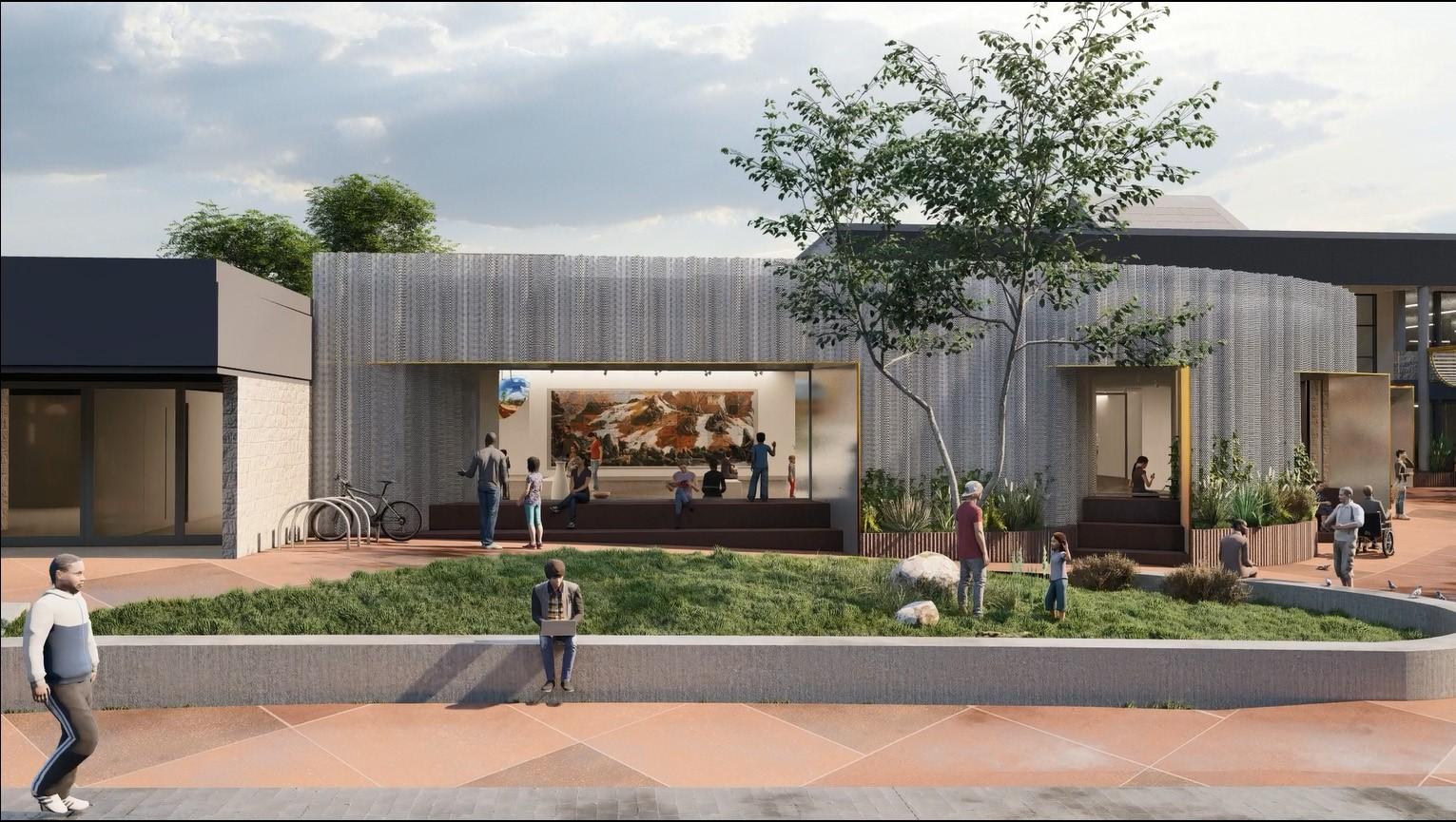 Bega Valley Regional Gallery design concept